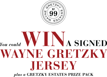 Enter for a chance to WIN a Wayne Gretzky signed jersey.